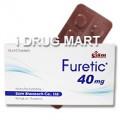 フレティック40mg (利尿剤)
