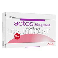 アクトス(糖尿病治療薬) 15mg/30mg商品画像