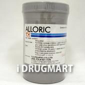 アロリック(アロプリノール錠)100mg商品画像