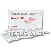 アムリプ (ノルバスクのジェネリック薬) の画像