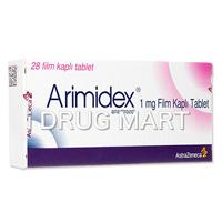 アリミデックス錠1mg(抗ホルモン剤) の画像