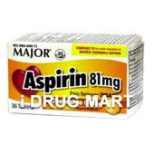アスピリン 81mg(チュワブルオレンジ)商品画像