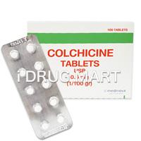 コルヒチン錠(痛風治療薬)0.6mg商品画像