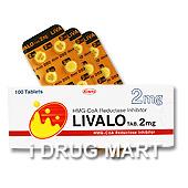 リバロ錠2mg商品画像