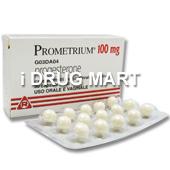 プロメトリウム100mg(黄体ホルモン)商品画像