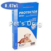 プロテクトール・スポットオン 子型犬用 10kg未満 の画像