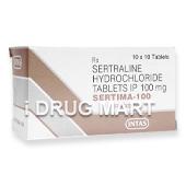 セルティマ100mg(ゾロフトのジェネリック薬)商品画像