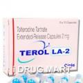 テロルLA2mg(デトルシトールのジェネリック薬)