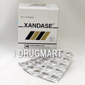 XANDASE(アロプリノール錠)100mg商品画像