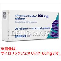 ザイロリック錠(痛風治療薬)100mg の画像