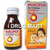 ニューロフェン子供用シロップ(イブプロフェン)商品画像